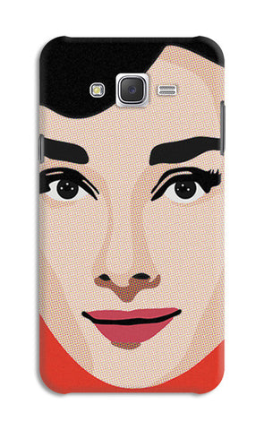 Audrey Hepburn Pop Art | Samsung Galaxy J7 Cases