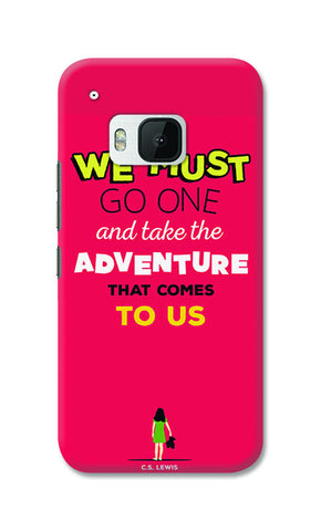 Adventures Narnia Typography | HTC One M9 Cases