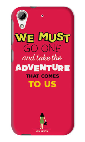 Adventures Narnia Typography | HTC Desire 626 Cases
