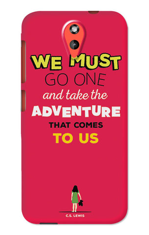 Adventures Narnia Typography | HTC Desire 620 Cases