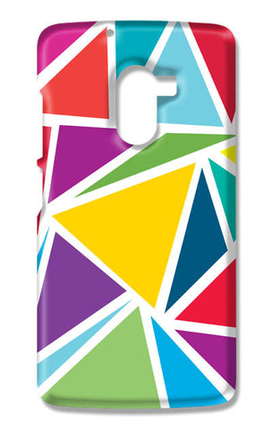 Abstract Colorful Triangles | Lenovo K4 Note Cases