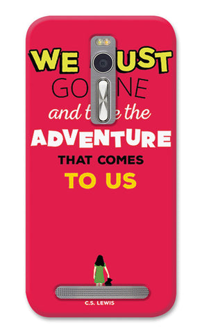 Adventures Narnia Typography | Asus Zenfone 2 Cases
