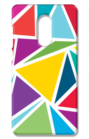 Abstract Colorful Triangles | Xiaomi Redmi Note 4 Cases