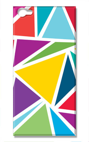 Abstract Colorful Triangles | Vivo V5 Cases