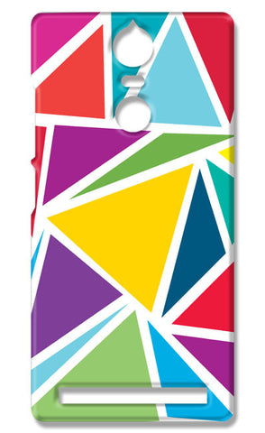 Abstract Colorful Triangles | Lenovo K5 Note Cases