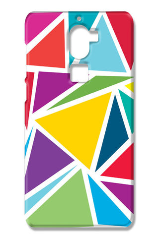 Abstract Colorful Triangles Coolpad Cool One Cases
