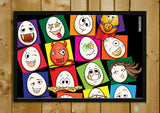 Wall Art, Eggoticons 10 | Artist: Eggoticons, - PosterGully - 2