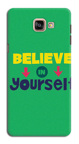 Believe In Yourself Typography | Samsung Galaxy A9 (2016) Cases