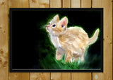 Wall Art, Cute Kitten Oil Painting | Artist: Masaad Amoodi, - PosterGully - 2