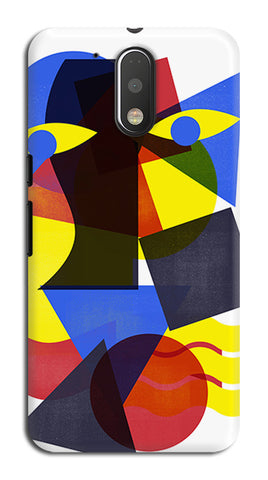 Eyes on You Abstract Above Artwork | Moto G4 Plus Cases