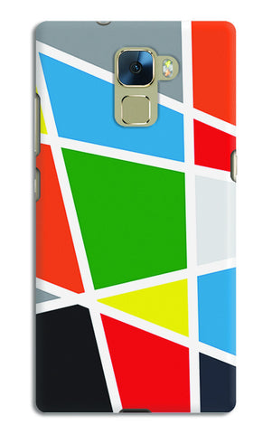 Abstract Colorful Shapes | Huawei Honor 7 Cases