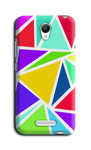 Abstract Colorful Triangles | Redmi Note 2 Cases