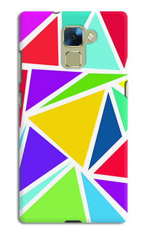 Abstract Colorful Triangles | Huawei Honor 7 Cases