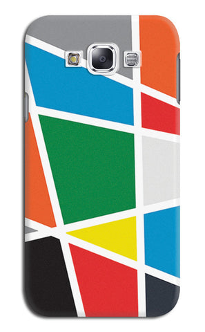Abstract Colorful Shapes | Samsung Galaxy E7 Cases