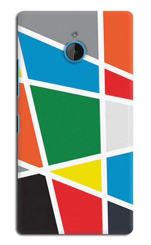 Abstract Colorful Shapes | Nokia Lumia 640 XL Cases