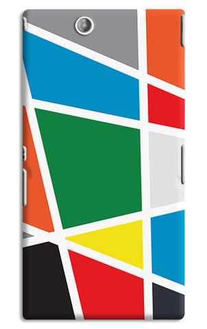 Abstract Colorful Shapes | Sony Xperia Z Ultra Cases