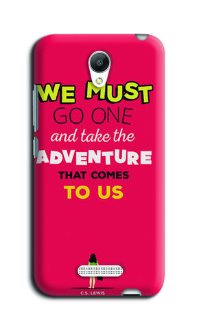 Adventures Narnia Typography | Redmi Note 2 Cases