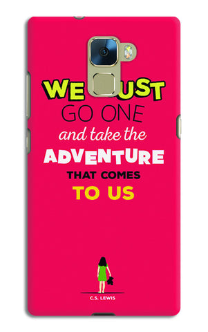Adventures Narnia Typography | Huawei Honor 7 Cases
