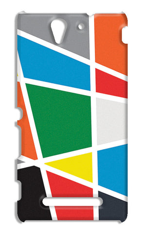 Abstract Colorful Shapes | Sony Xperia C3 S55t Cases