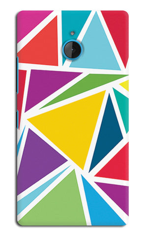 Abstract Colorful Triangles | Nokia Lumia 640 XL Cases