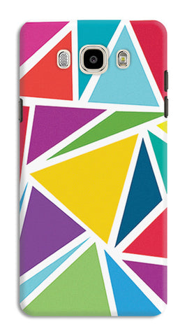 Abstract Colorful Triangles | Samsung Galaxy J7 (2016) Cases