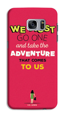 Adventures Narnia Typography | Samsung Galaxy S7 Cases