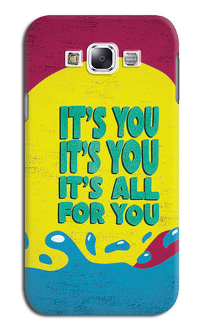 All For You Lana Del Rey | Samsung Galaxy E7 Cases