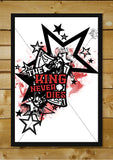 Brand New Designs, The King | Artist: Sahil Agrawal, - PosterGully - 2