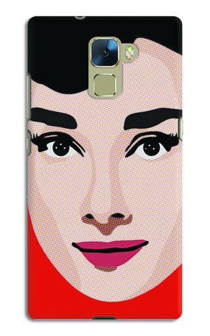 Audrey Hepburn Pop Art | Huawei Honor 7 Cases