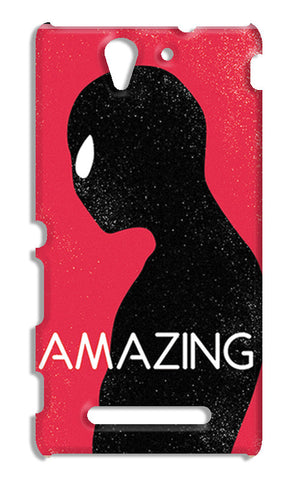 Amazing Spiderman Minimal | Sony Xperia C3 S55t Cases
