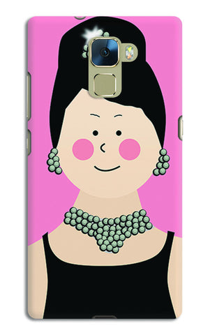 Audrey Hepburn Breakfast At Tiffany | Huawei Honor 7 Cases