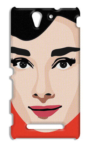 Audrey Hepburn Pop Art | Sony Xperia C3 S55t Cases