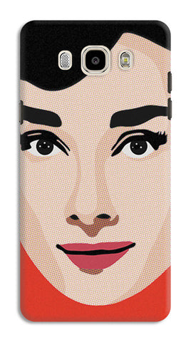 Audrey Hepburn Pop Art | Samsung Galaxy J7 (2016) Cases