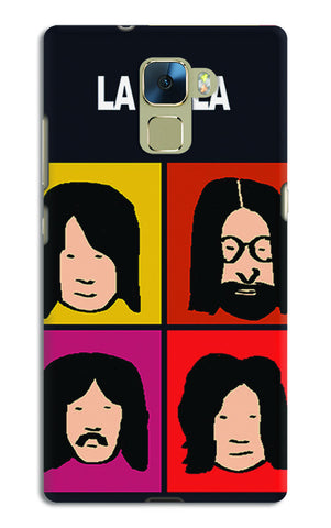 Beatles La La La Pop Art | Huawei Honor 7 Cases