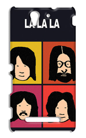 Beatles La La La Pop Art | Sony Xperia C3 S55t Cases