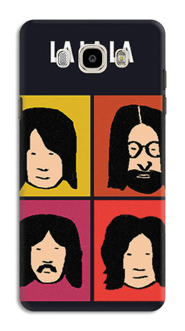Beatles La La La Pop Art | Samsung Galaxy J7 (2016) Cases