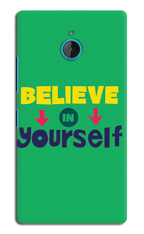 Believe In Yourself Typography | Nokia Lumia 640 XL Cases