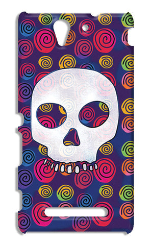 Candy Skull Artwork | Sony Xperia C3 S55t Cases
