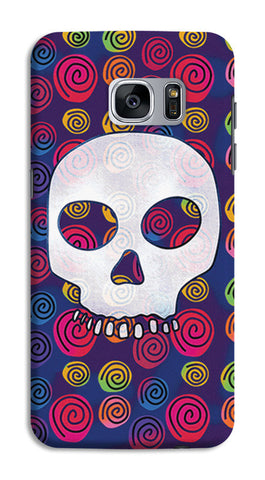 Candy Skull Artwork | Samsung Galaxy S7 Cases