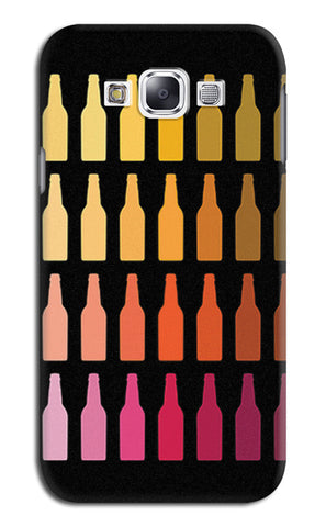 Chilled Beer Bottles | Samsung Galaxy E7 Cases