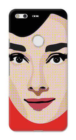 Audrey Hepburn Pop Art | Google Pixel XL Cases