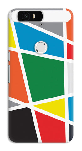 Abstract Colorful Shapes | Huawei Nexus 6P Cases