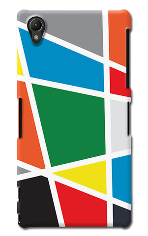 Abstract Colorful Shapes | Sony Xperia Z1 (L39h) Cases