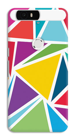 Abstract Colorful Triangles | Huawei Nexus 6P Cases