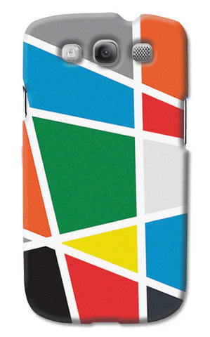 Abstract Colorful Shapes | Samsung Galaxy S3 Cases
