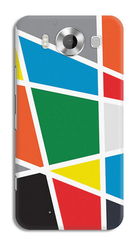 Abstract Colorful Shapes | Nokia Lumia 950 Cases