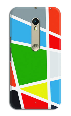 Abstract Colorful Shapes | Moto X Style Cases