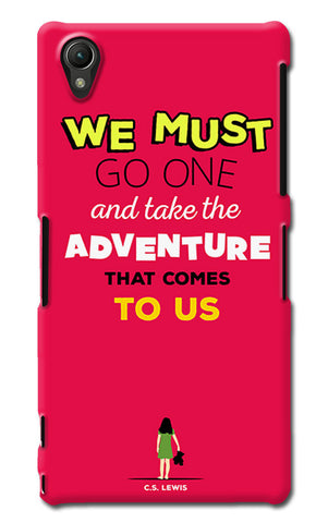 Adventures Narnia Typography | Sony Xperia Z1 (L39h) Cases