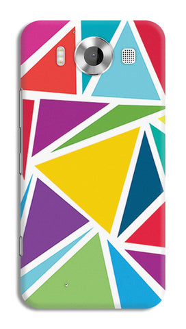 Abstract Colorful Triangles | Nokia Lumia 950 Cases