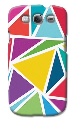 Abstract Colorful Triangles | Samsung Galaxy S3 Cases